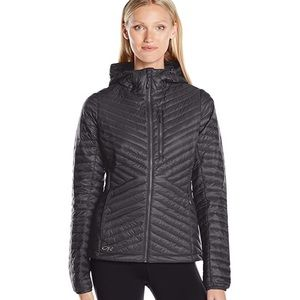 Outdoor Research Down Hooded Jacket- Womens